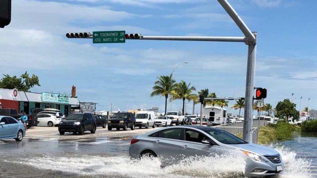 Flooding at Truman