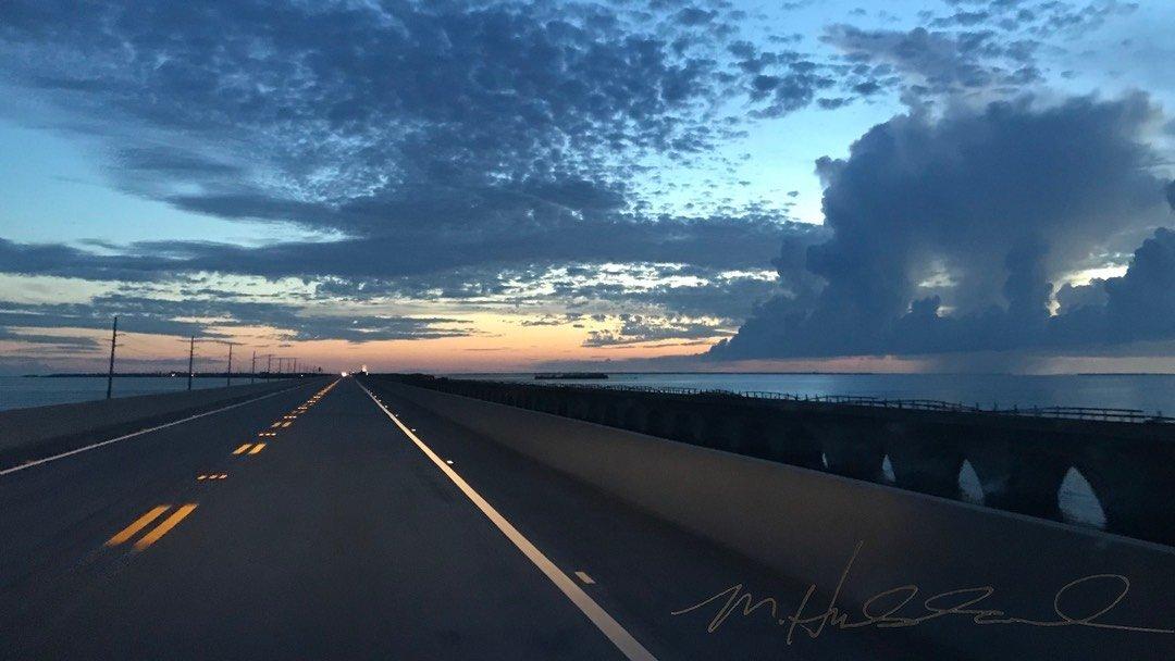 Seven Mile Bridge Sunset