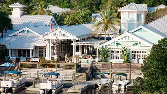Disney Old Key West Disney provided